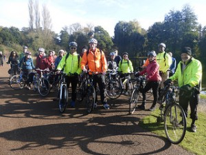 Bread Pudding Ride to Osterley Park