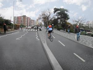 Illustration of Portsmouth Road scheme