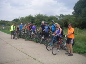 Hounslow Heath and the 'Dragonfly', with some Kingston Cyclists