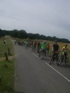 Richmond park feeder ride to Freewheel
